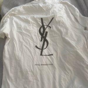 Etsy YSL shirt